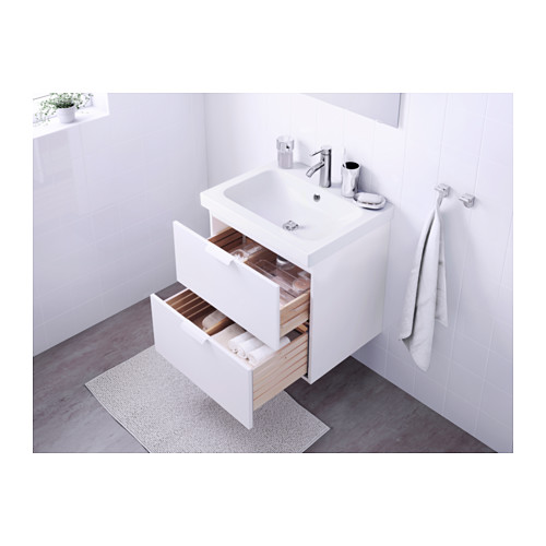 ODENSVIK/GODMORGON wash-stand with 2 drawers