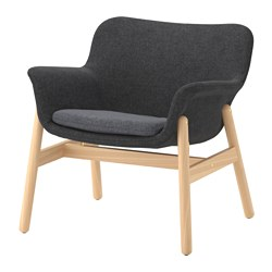 VEDBO - armchair, Gunnared dark grey | IKEA Hong Kong and Macau - PE638683_S3