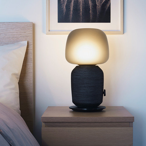 SYMFONISK - 座檯燈連Wi-Fi喇叭, 黑色   IKEA 香港及澳門 - PE728981_S4