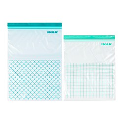 ISTAD - resealable bag, turquoise/light turquoise | IKEA Hong Kong and Macau - PE729008_S3