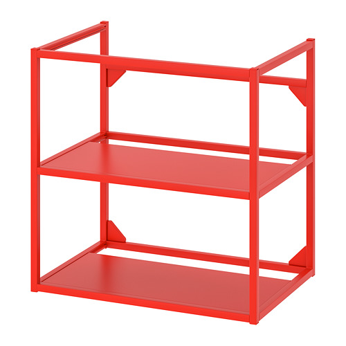 ENHET - base frame for washbasin, red-orange   IKEA Hong Kong and Macau - PE772121_S4