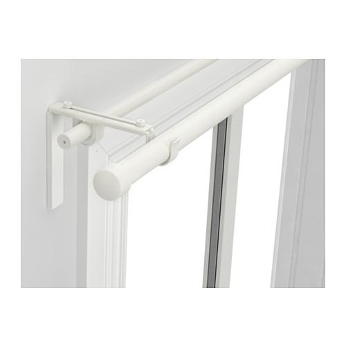 HUGAD/RÄCKA - 雙窗簾桿組合, 白色 | IKEA 香港及澳門 - PE514200_S4