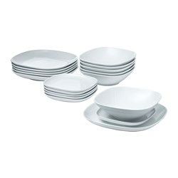 VÄRDERA - 18-piece service, white | IKEA Hong Kong and Macau - PE729021_S3