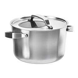 SENSUELL - 連蓋鍋 5.5 升, 不銹鋼/灰色 | IKEA 香港及澳門 - PE729074_S3