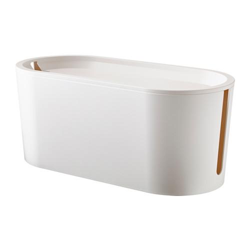 ROMMA - 電線整理盒連蓋, 白色 | IKEA 香港及澳門 - PE516646_S4