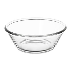 VARDAGEN - serving bowl, clear glass, 20cm | IKEA Hong Kong and Macau - PE729148_S3