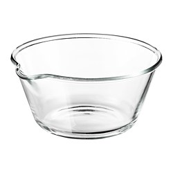 VARDAGEN - bowl, clear glass, 26cm | IKEA Hong Kong and Macau - PE729151_S3