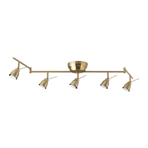BAROMETER - 五頭天花射燈燈軌, 黃銅色 | IKEA 香港及澳門 - PE686117_S4