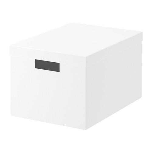 TJENA - 連蓋貯物盒, 白色 | IKEA 香港及澳門 - PE729261_S4