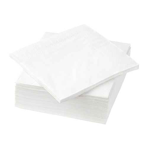 FANTASTISK - 餐紙巾, 白色 | IKEA 香港及澳門 - PE729301_S4