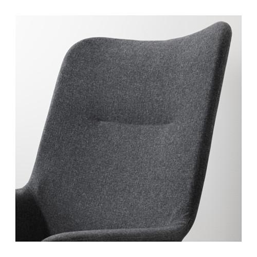 VEDBO - high-back armchair, Gunnared dark grey | IKEA Hong Kong and Macau - PE638865_S4