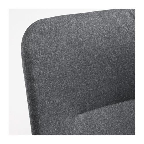 VEDBO - high-back armchair, Gunnared dark grey | IKEA Hong Kong and Macau - PE638864_S4