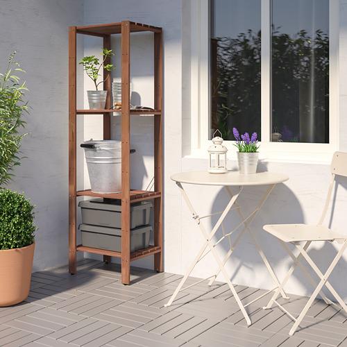 TORDH - 戶外層架組合, 染褐色 | IKEA 香港及澳門 - PE772349_S4