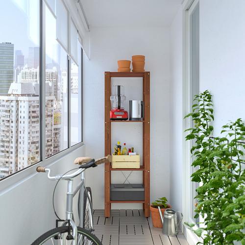 TORDH - 戶外層架組合, 染褐色 | IKEA 香港及澳門 - PE772350_S4