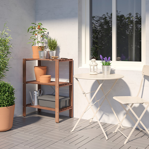 TORDH - shelving unit, outdoor, brown stained   IKEA Hong Kong and Macau - PE772353_S4