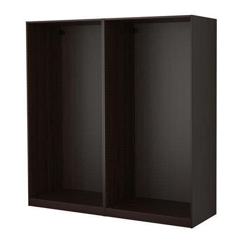 PAX 2個衣櫃框