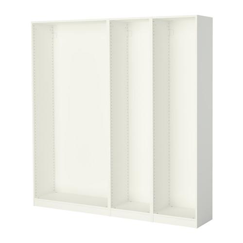 PAX - 3個衣櫃框, 白色   IKEA 香港及澳門 - PE514162_S4