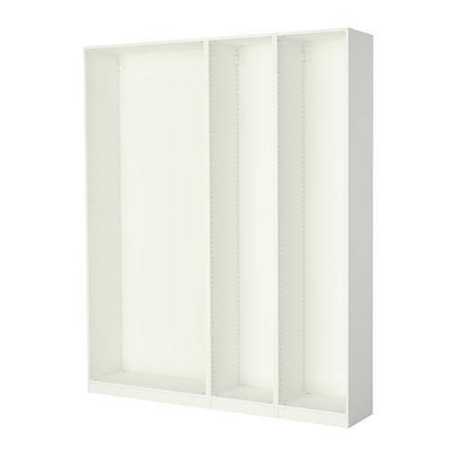 PAX - 3 wardrobe frames, white | IKEA Hong Kong and Macau - PE514159_S4