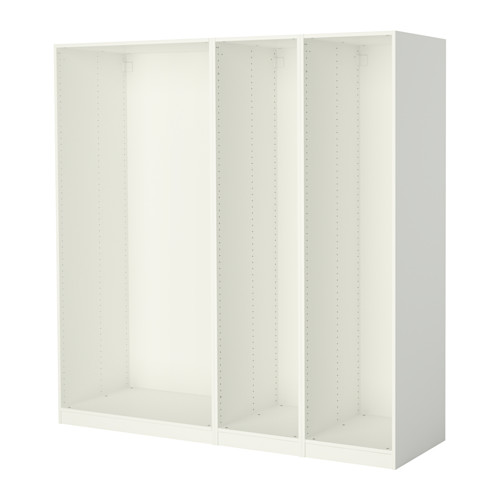 PAX - 3 wardrobe frames, white | IKEA Hong Kong and Macau - PE514157_S4