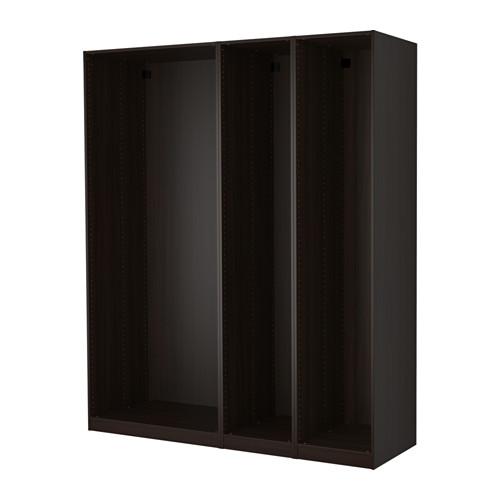 PAX 3個衣櫃框