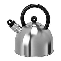VATTENTÄT - kettle, stainless steel/black | IKEA Hong Kong and Macau - PE729450_S3