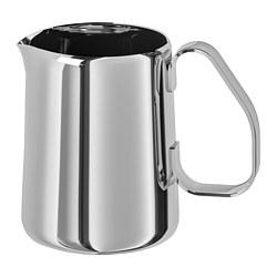 MÅTTLIG - milk-frothing jug, stainless steel | IKEA Hong Kong and Macau - PE729455_S3
