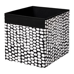 DRÖNA - box, black/white | IKEA Hong Kong and Macau - PE785267_S3