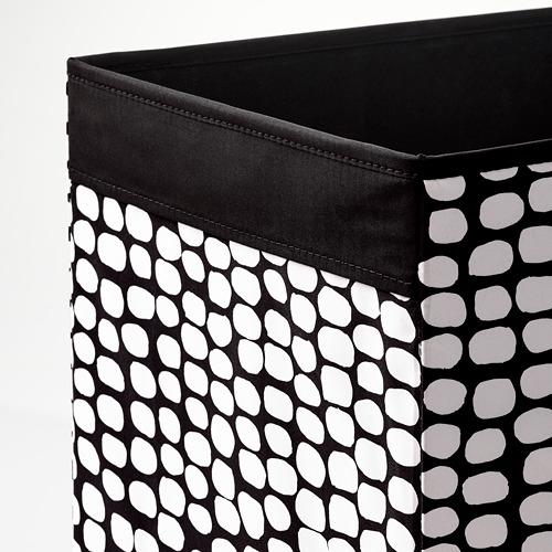 DRÖNA - box, black/white | IKEA Hong Kong and Macau - PE785268_S4