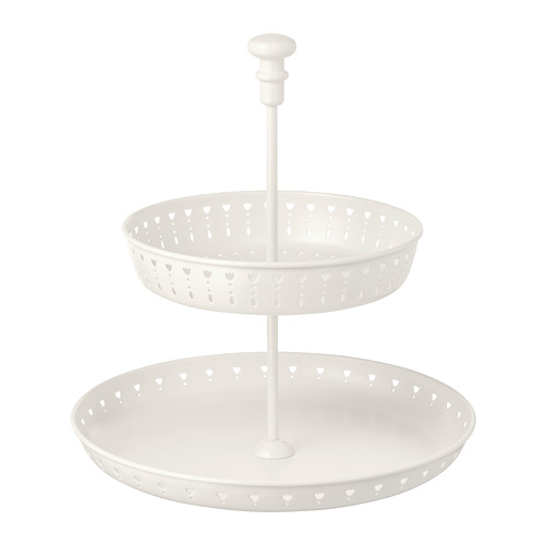 GARNERA - serving stand, two tiers, white | IKEA Hong Kong and Macau - PE729523_S4