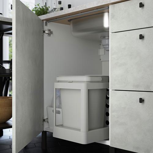 ENHET - 角位廚房, 白色/仿混凝土 白色 | IKEA 香港及澳門 - PE783524_S4