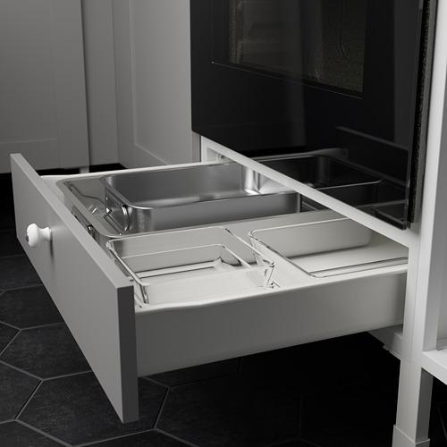 ENHET - 角位廚房, 白色/灰色 框架 | IKEA 香港及澳門 - PE783559_S4