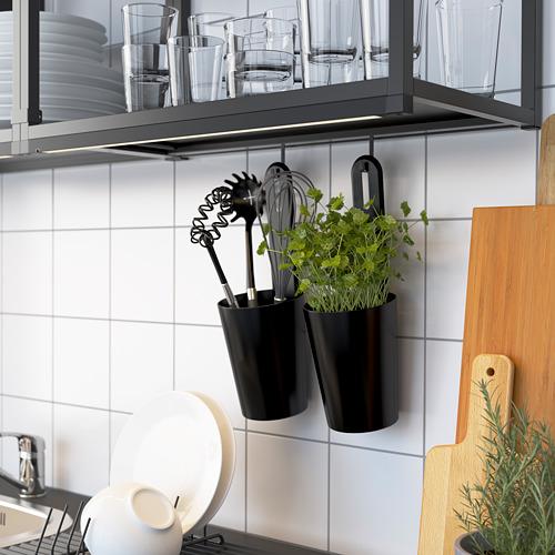 ENHET - 吊櫃框連層板, 炭黑色 | IKEA 香港及澳門 - PE783562_S4