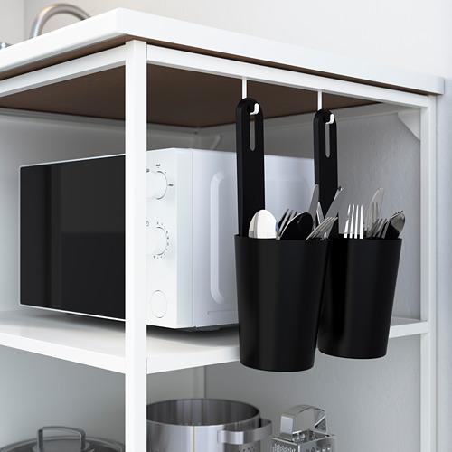 ENHET - 角位廚房, 白色/仿混凝土 白色 | IKEA 香港及澳門 - PE783581_S4