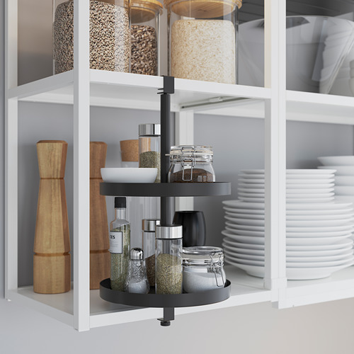 ENHET - 角位廚房, 白色/仿混凝土 | IKEA 香港及澳門 - PE783584_S4