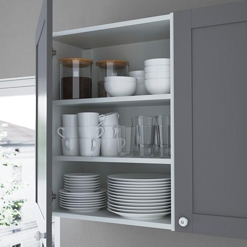 ENHET - 上牆式貯物架組合, anthracite/grey frame | IKEA 香港及澳門 - PE783591_S4