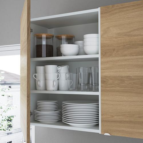 ENHET - 角位廚房, 白色/橡木紋 | IKEA 香港及澳門 - PE783594_S4