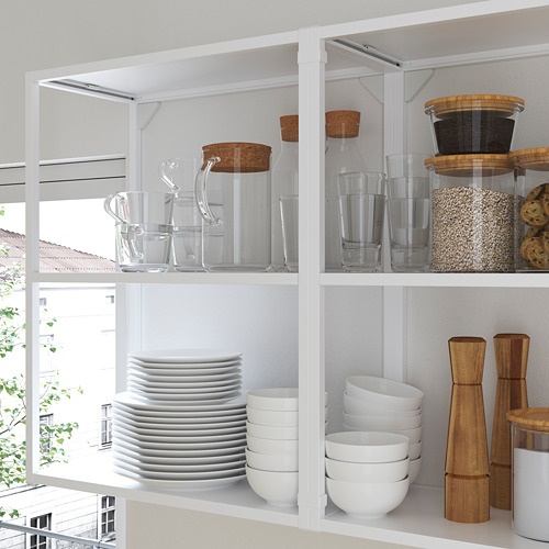 ENHET - wall fr w shelves, white | IKEA Hong Kong and Macau - PE783623_S4