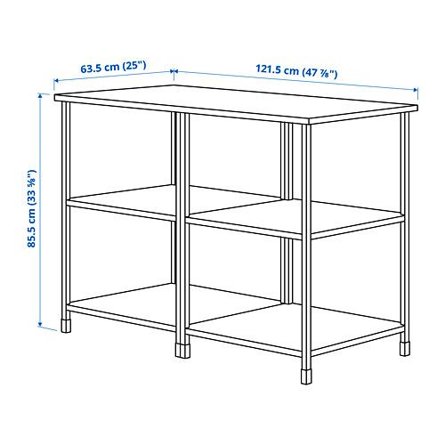 ENHET - 廚房工作檯層架組, 白色 | IKEA 香港及澳門 - PE829219_S4