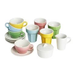DUKTIG - 咖啡杯/茶杯 10件套裝, 彩色 | IKEA 香港及澳門 - PE214921_S3
