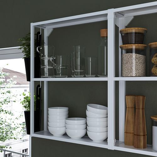 ENHET - 角位廚房, 白色/仿混凝土 白色 | IKEA 香港及澳門 - PE783625_S4