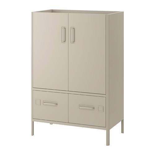 IDÅSEN - cabinet with doors and drawers, beige | IKEA Hong Kong and Macau - PE686429_S4