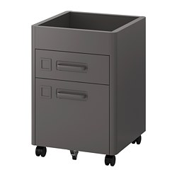IDÅSEN - drawer unit with smart lock, dark grey | IKEA Hong Kong and Macau - PE686437_S3