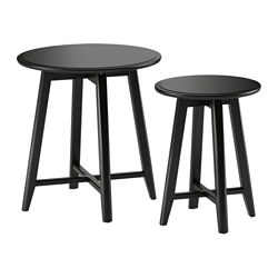 KRAGSTA - nest of tables, set of 2, black | IKEA Hong Kong and Macau - PE517045_S3