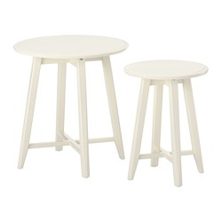 KRAGSTA - nest of tables, set of 2, white | IKEA Hong Kong and Macau - PE517046_S3