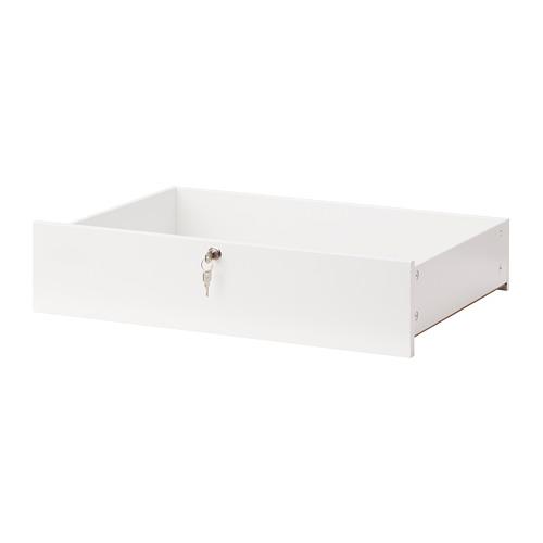 KOMPLEMENT - 抽屜櫃(可上鎖), 白色 | IKEA 香港及澳門 - PE729725_S4