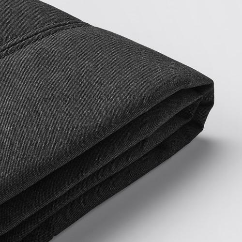 FLOTTEBO - cover sofa-bed, Vissle dark grey | IKEA Hong Kong and Macau - PE729754_S4