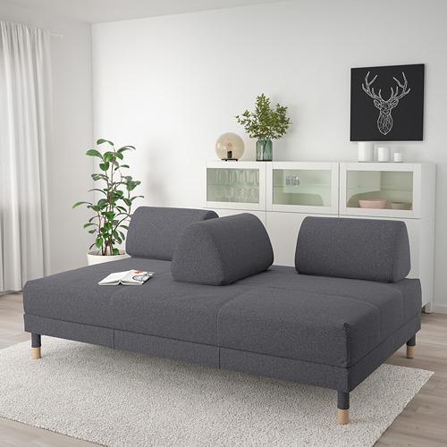 FLOTTEBO - sofa-bed with storage, Gunnared medium grey   IKEA Hong Kong and Macau - PE729756_S4