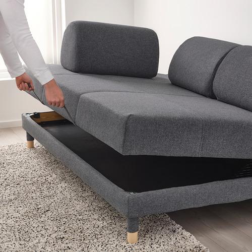 FLOTTEBO - sofa-bed with storage, Gunnared medium grey   IKEA Hong Kong and Macau - PE729757_S4