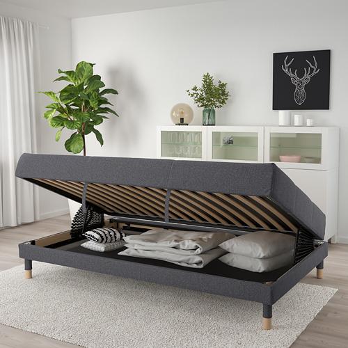 FLOTTEBO - sofa-bed with storage, Gunnared medium grey   IKEA Hong Kong and Macau - PE729761_S4