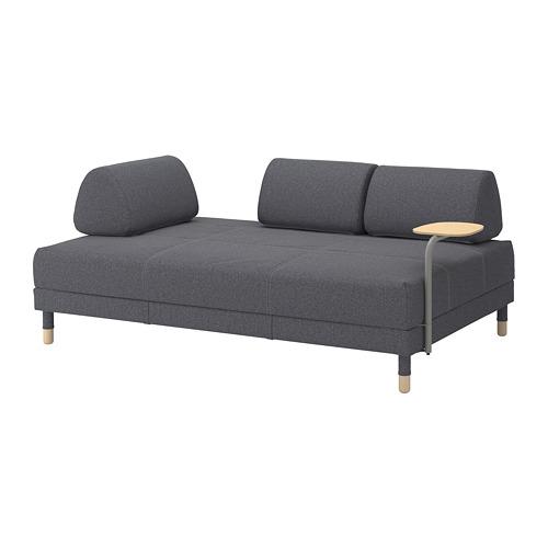 FLOTTEBO - sofa-bed with side table, Gunnared medium grey | IKEA Hong Kong and Macau - PE729788_S4